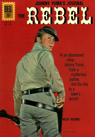 Cover for Four Color (Dell, 1942 series) #1262 [ad] - The Rebel