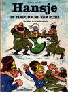 Cover for Favorietenreeks (Le Lombard, 1970 series) #13 - Hansje: De terugtocht van Rosie