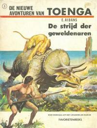 Cover Thumbnail for Favorietenreeks (Uitgeverij Helmond, 1970 series) #3 - Toenga: De strijd der geweldenaren
