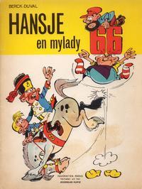 Cover Thumbnail for Favorietenreeks (Le Lombard, 1966 series) #14 - Hansje 2: Hansje en mylady 66