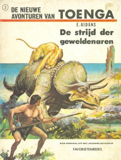 Cover for Favorietenreeks (Uitgeverij Helmond, 1970 series) #3 - Toenga: De strijd der geweldenaren