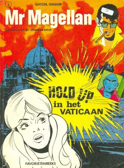 Cover for Favorietenreeks (Uitgeverij Helmond, 1970 series) #6 - Mr Magellan: Hold Up in het Vaticaan