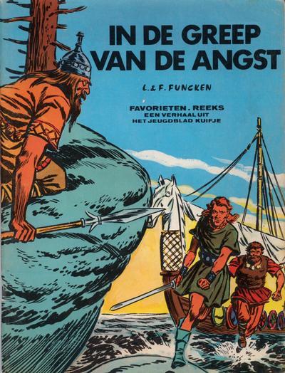 Cover for Favorietenreeks (Le Lombard, 1966 series) #19 - Harald de Viking: In de greep van de angst