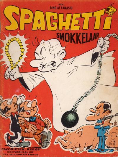 Cover for Favorietenreeks (Le Lombard, 1966 series) #25 - Spaghetti: Smokkelaar