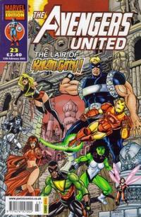 Cover Thumbnail for The Avengers United (Panini UK, 2001 series) #23