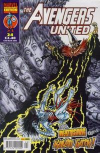 Cover Thumbnail for The Avengers United (Panini UK, 2001 series) #24