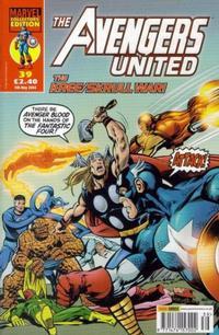 Cover Thumbnail for The Avengers United (Panini UK, 2001 series) #39