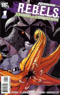 Cover Thumbnail for R.E.B.E.L.S. Annual #1: Starro the Conqueror (DC, 2009 series)