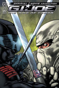 Cover Thumbnail for G.I. Joe: Rise of Cobra Movie Adaptation (IDW, 2009 series) #3 [Cover A]