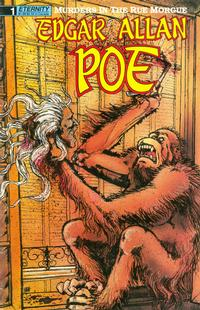 Cover Thumbnail for Edgar Allan Poe: The Murders in the Rue Morgue and Other Stories (Malibu, 1989 series) #1