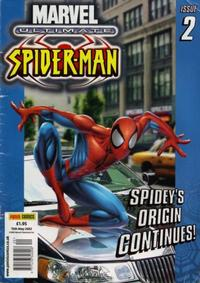 Cover Thumbnail for Ultimate Spider-Man (Panini UK, 2002 series) #2
