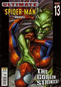 Cover Thumbnail for Ultimate Spider-Man (Panini UK, 2002 series) #13
