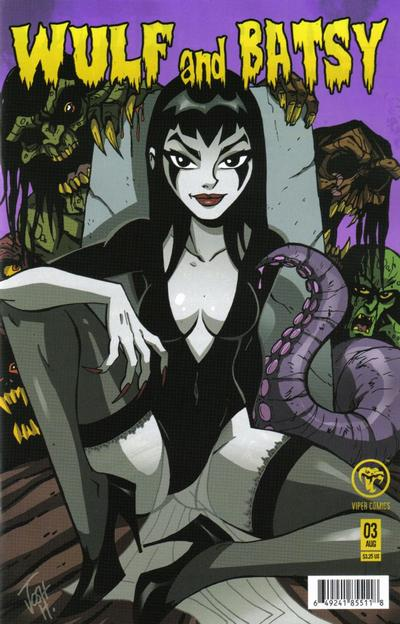 Cover for Wulf and Batsy (Viper, 2008 series) #3