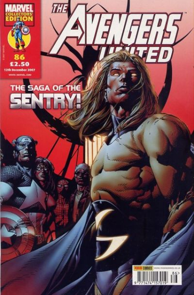 Cover for The Avengers United (Panini UK, 2001 series) #86