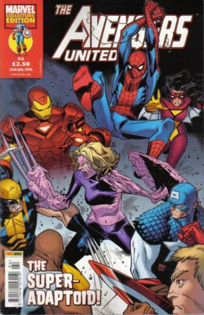 Cover for The Avengers United (Panini UK, 2001 series) #94
