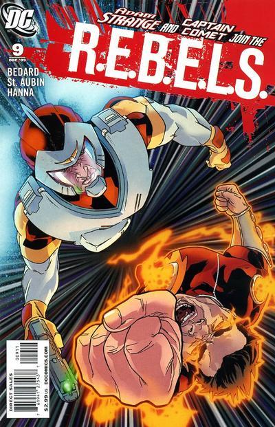 Cover for R.E.B.E.L.S. (DC, 2009 series) #9