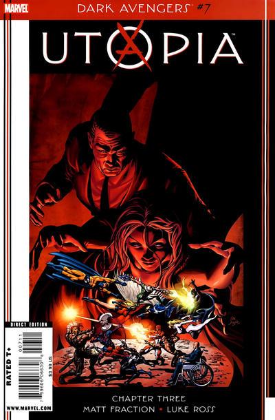 Cover for Dark Avengers (Marvel, 2009 series) #7 [Simone Bianchi Variant]