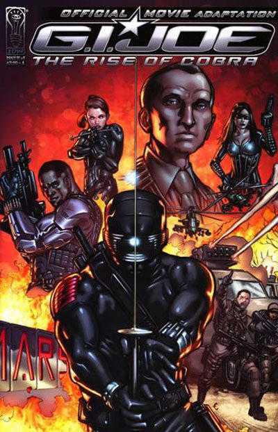 Cover for G.I. Joe: Rise of Cobra Movie Adaptation (IDW, 2009 series) #1 [Cover A]