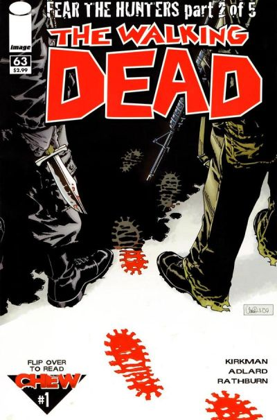 Cover for The Walking Dead (Image, 2003 series) #63