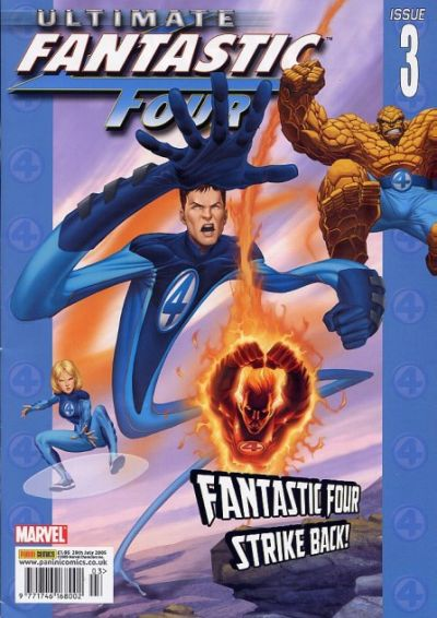 Cover for Ultimate Fantastic Four (Panini UK, 2005 series) #3