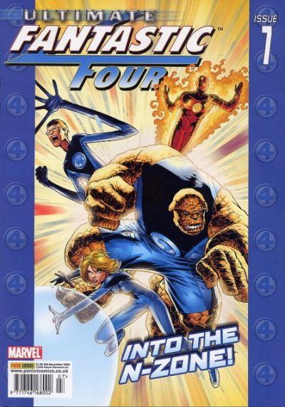 Cover for Ultimate Fantastic Four (Panini UK, 2005 series) #7