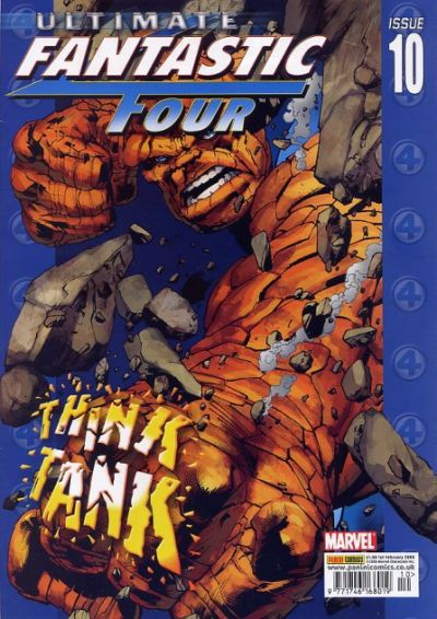 Cover for Ultimate Fantastic Four (Panini UK, 2005 series) #10