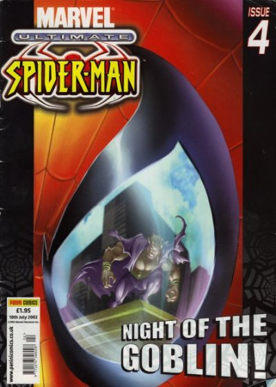 Cover for Ultimate Spider-Man (Panini UK, 2002 series) #4