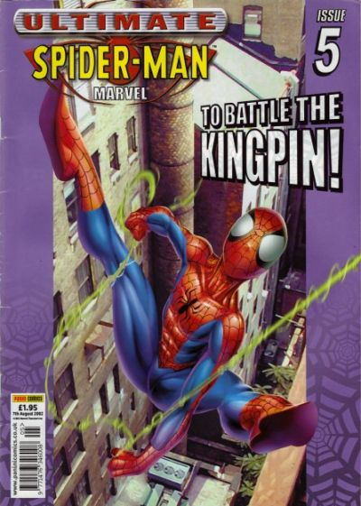 Cover for Ultimate Spider-Man (Panini UK, 2002 series) #5