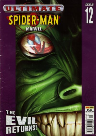 Cover for Ultimate Spider-Man (Panini UK, 2002 series) #12