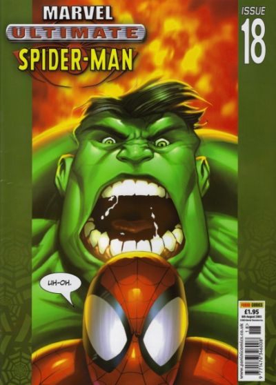 Cover for Ultimate Spider-Man (Panini UK, 2002 series) #18