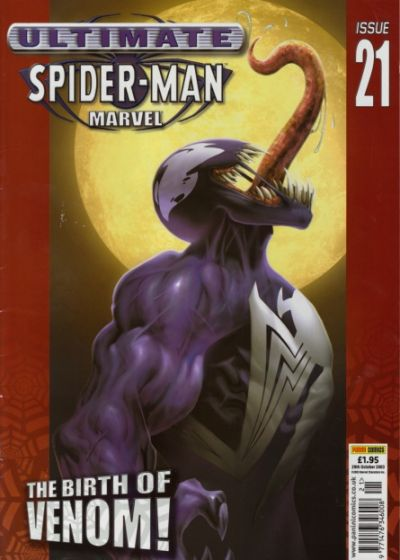 Cover for Ultimate Spider-Man (Panini UK, 2002 series) #21