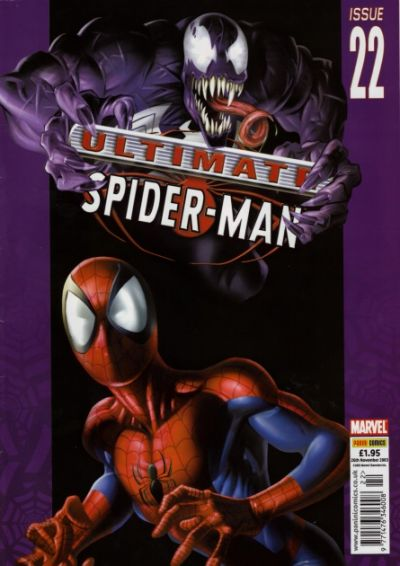 Cover for Ultimate Spider-Man (Panini UK, 2002 series) #22