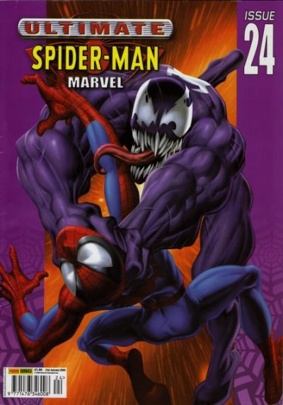 Cover for Ultimate Spider-Man (Panini UK, 2002 series) #24