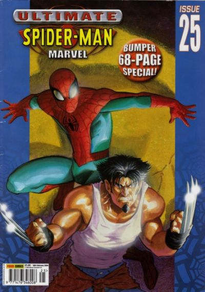 Cover for Ultimate Spider-Man (Panini UK, 2002 series) #25