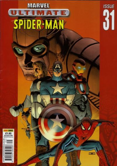 Cover for Ultimate Spider-Man (Panini UK, 2002 series) #31