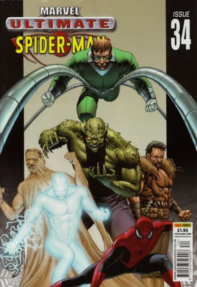 Cover for Ultimate Spider-Man (Panini UK, 2002 series) #34