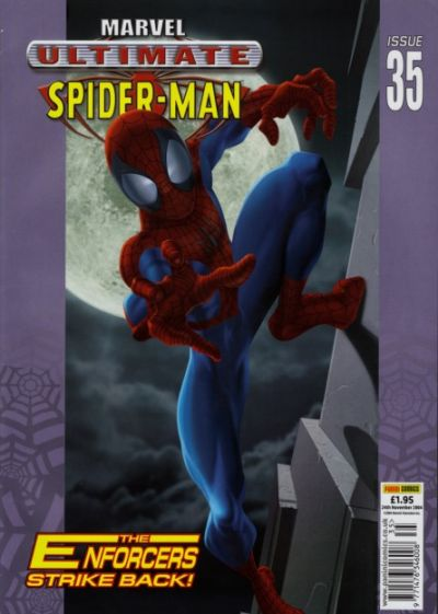 Cover for Ultimate Spider-Man (Panini UK, 2002 series) #35