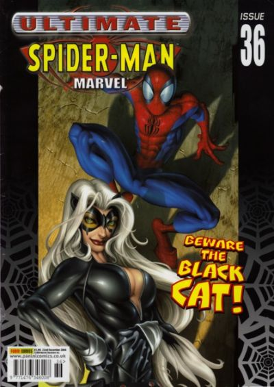 Cover for Ultimate Spider-Man (Panini UK, 2002 series) #36