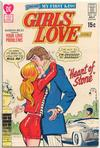 Cover for Girls' Love Stories (DC, 1949 series) #160