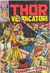 Cover for Thor e i Vendicatori (Editoriale Corno, 1975 series) #122