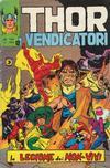 Cover for Thor e i Vendicatori (Editoriale Corno, 1975 series) #140