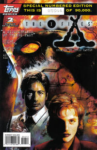 Cover Thumbnail for The X-Files (Topps, 1995 series) #2 [Second Printing]