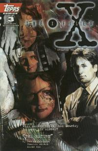 Cover Thumbnail for The X-Files (Topps, 1995 series) #3 [Direct]