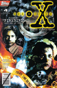 Cover Thumbnail for The X-Files (Topps, 1995 series) #4