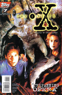 Cover Thumbnail for The X-Files (Topps, 1995 series) #7 [Direct]