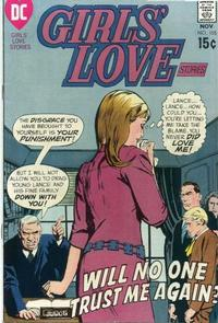 Cover for Girls' Love Stories (DC, 1949 series) #155