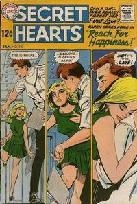 Cover Thumbnail for Secret Hearts (DC, 1949 series) #133