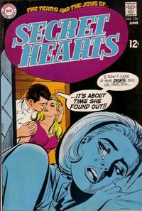 Cover for Secret Hearts (DC, 1949 series) #136