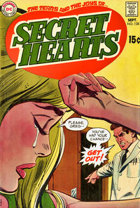 Cover for Secret Hearts (DC, 1949 series) #138
