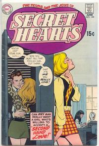 Cover Thumbnail for Secret Hearts (DC, 1949 series) #144